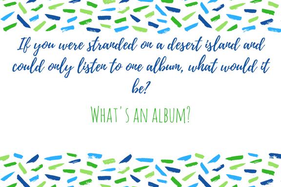 Desert Island Album